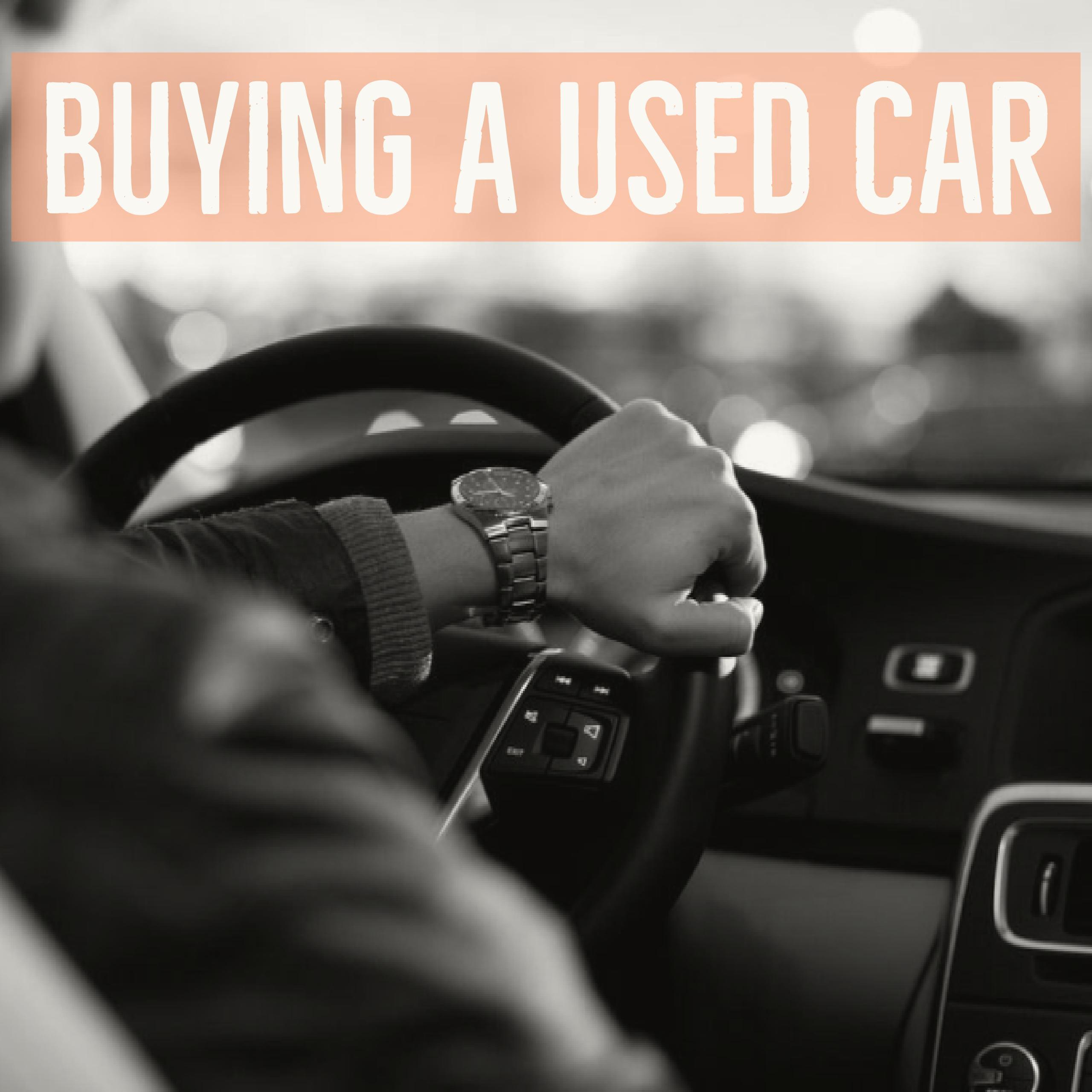 Buying A Car Applied Math