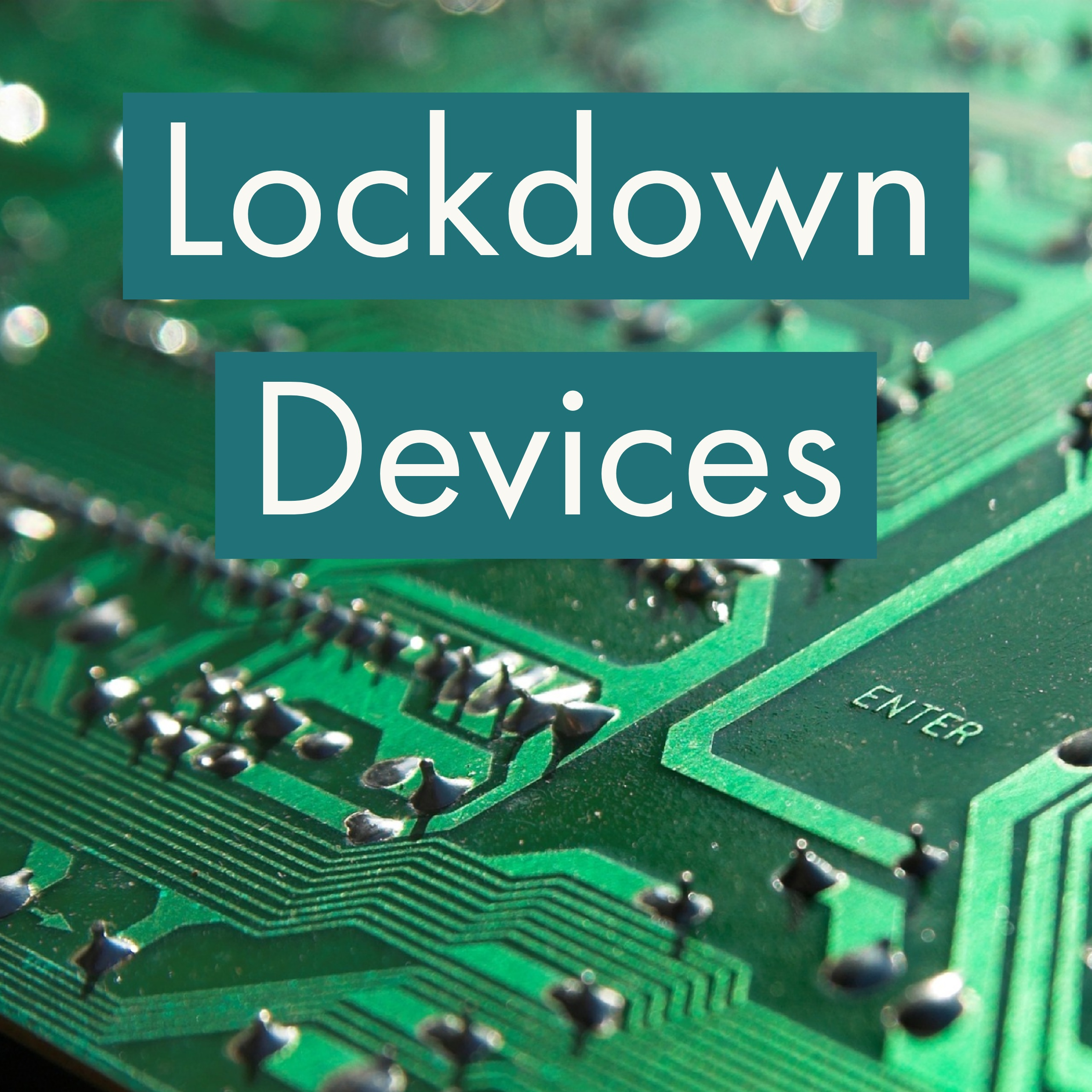 lockdown browsers and secured laptops
